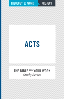 Acts, Paperback / softback Book