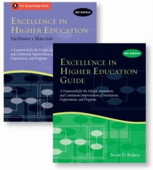 Excellence in Higher Education Guide & Facilitator's Materials Set, Paperback / softback Book