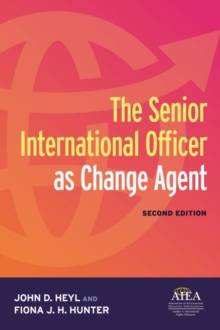 The Senior International Officer as Change Agent, Paperback / softback Book