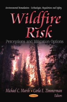 Wildfire Risk : Perceptions & Mitigation Options, Paperback Book