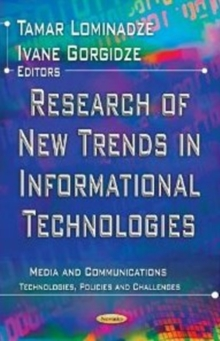 Research of New Trends in Informational Technologies, Paperback / softback Book