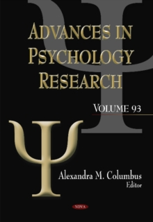 Advances in Psychology Research : Volume 93, Hardback Book