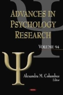 Advances in Psychology Research : Volume 94, Hardback Book