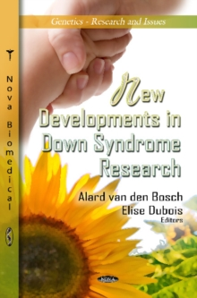 New Developments in Down Syndrome Research, Hardback Book