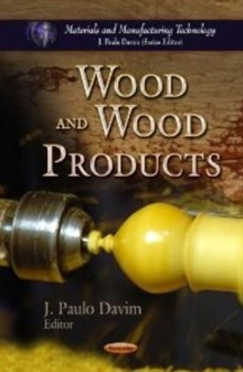 Wood & Wood Products, Paperback Book