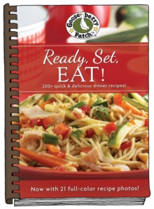 Ready, Set Eat! Cookbook with Photos, Hardback Book