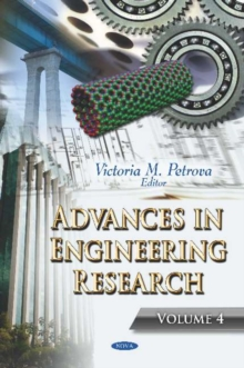 Advances in Engineering Research : Volume 4, Hardback Book