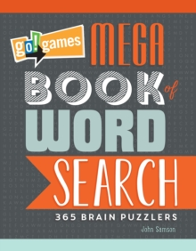 Go!games Mega Book Of Word Search, Paperback / softback Book