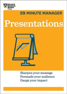 Presentations (HBR 20-Minute Manager Series), Paperback Book