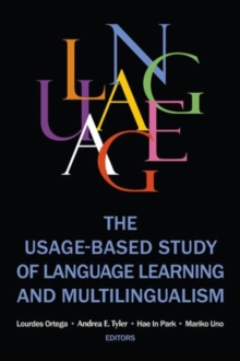 The Usage-based Study of Language Learning and Multilingualism, Paperback / softback Book