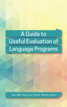 A Guide to Useful Evaluation of Language Programs, Hardback Book
