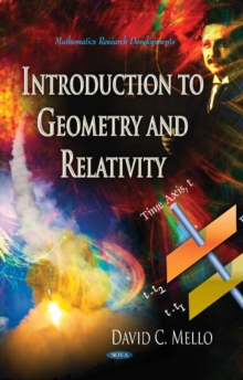 Introduction to Geometry & Relativity, Hardback Book