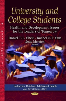 University & College Students : Health & Development Issues for the Leaders of Tomorrow, Hardback Book