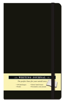 Solid Black Journal, Hardback Book