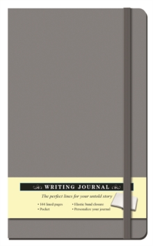 Solid Gray Journal, Hardback Book