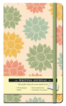 Multi Floral Journal, Hardback Book