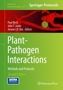 Plant-Pathogen Interactions : Methods and Protocols, Hardback Book