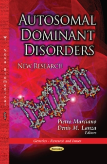 Autosomal Dominant Disorders : New Research, Paperback / softback Book