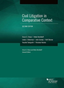 Civil Litigation in Comparative Context, Paperback / softback Book