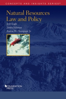 Natural Resources Law and Policy, Paperback / softback Book