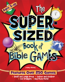 The Super-Sized Book of Bible Games, Paperback / softback Book