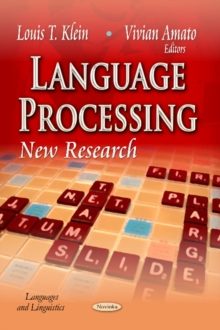 Language Processing : New Research, Paperback / softback Book