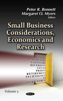 Small Business Considerations, Economics & Research : Volume 5, Hardback Book