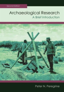 Archaeological Research : A Brief Introduction, Paperback / softback Book