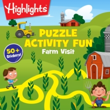 Farm Visit Puzzles : Solve the Hidden Pictures puzzles and fill in the silly stories with stickers!, Paperback / softback Book