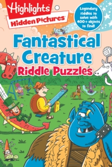 Fantastical Creature Riddle Puzzles, Paperback / softback Book