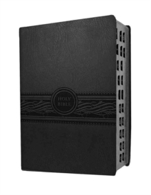 Personal Size Large Print Bible-Mev, Leather / fine binding Book