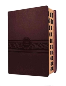 Personal Size Large Print-Mev, Leather / fine binding Book