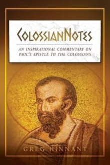 COLOSSIANNOTES, Paperback Book