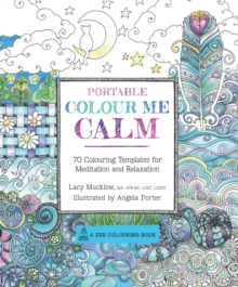 Portable Color Me Calm, Paperback Book