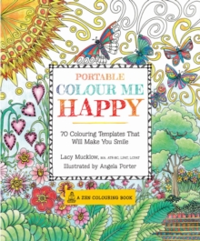 Portable Color Me Happy, Paperback Book