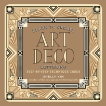 Learn to Create Art Deco Lettering, Postcard book or pack Book