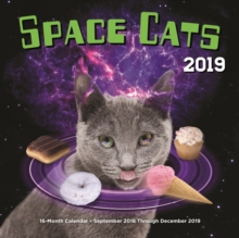 Space Cats 2019 : 16-Month Calendar - September 2018 through December 2019, Calendar Book