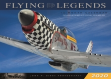Flying Legends 2020 : 16 Month Calendar  September 2019 Through December 2020, Calendar Book