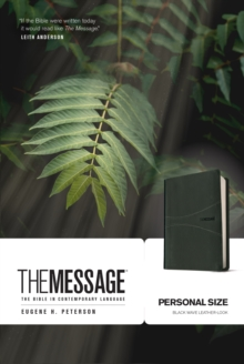 The Message Personal Size, Leather / fine binding Book