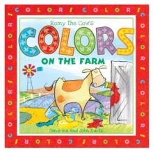 Romy the Cow's Colors on the Farm, Board book Book