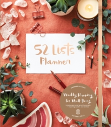 52 Lists Planner, Spiral bound Book