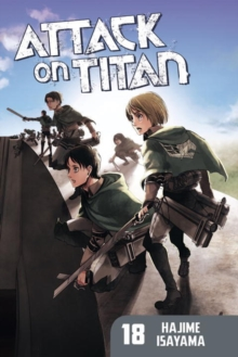 Attack on Titan 18, Paperback Book