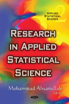 Research in Applied Statistical Science, Hardback Book