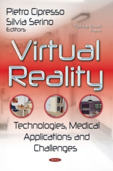 Virtual Reality : Technologies, Medical Applications & Challenges, Hardback Book