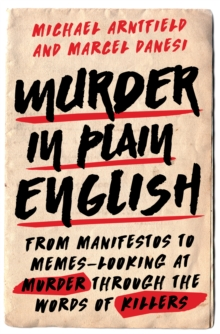 Murder In Plain English, Hardback Book