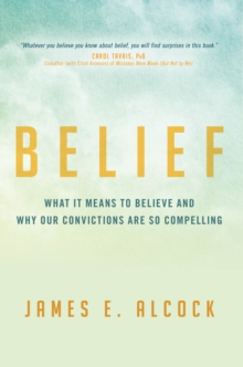 Belief, Hardback Book