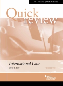 Quick Review of International Law, Paperback Book