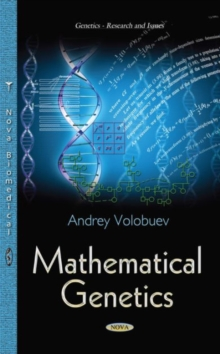 Mathematical Genetics, Paperback / softback Book