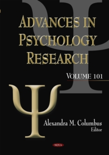 Advances in Psychology Research : Volume 101, Hardback Book