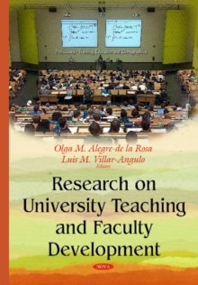 Research on University Teaching & Faculty Development, Hardback Book